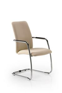 Eden 7400, Besucherstuhl mit gepolstertem Sitz
