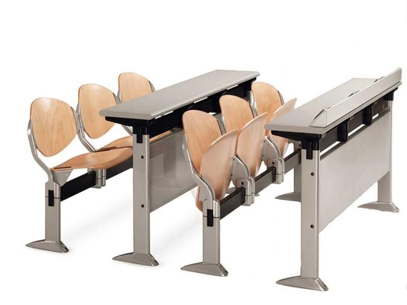 Ellisse on beam, Stuhl am Balken mit Klappsitz für Konferenzraum