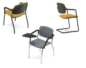 JOY, Konferenzstuhl mit Schreibtafel