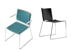 KUBICA, Stapelbarer Stuhl für Kollektivität