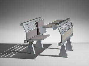 RUNNER, System von Sitzen und Tischen für Universitäten und Fachhochschulen