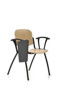 Seating 223, Aufsteckbarer Buchenstuhl für Konferenzräume