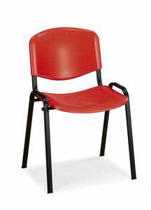 Stella plastic 100, Stuhl mit Kunststoffschale für Universitätsklassenräume
