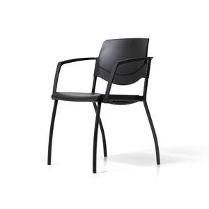 Sunny New, Stapelbarer Stuhl für Konferenzräume