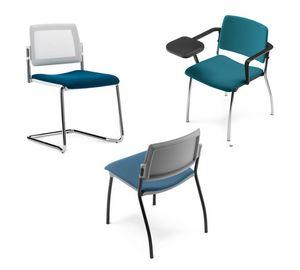 TEOREMA, Stapelbarer Stuhl, für Kollektivität