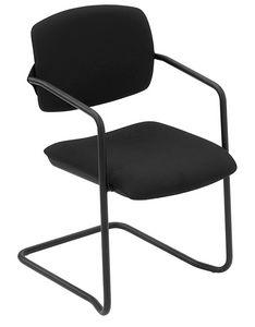 Universal cantilever, Stuhl mit freitragenden Untergründen, gefüllt, für Konferenzen
