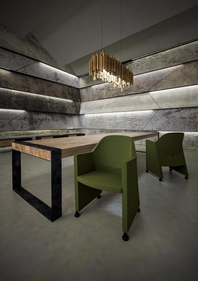 NESTAR, Wanne-Stuhl, robust und wendig, für Wartezimmer