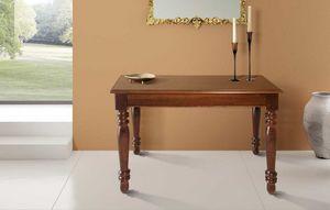 Art. 80, Holzkonsole, in einen großen Tisch umwandelbar