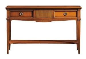Corinne FA.0002, Konsole mit 2 Schubladen, Louis XVI-Stil
