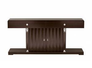 Heritage Konsole, Holzkonsole, mit Türen und Schubladen
