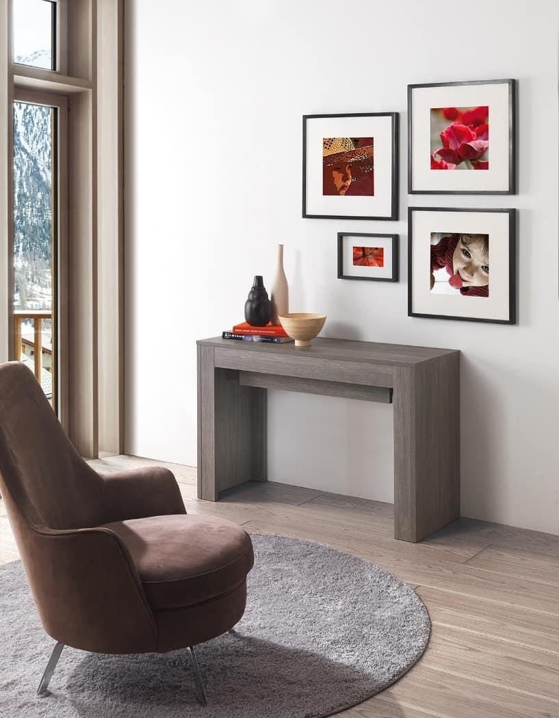 konsole umr stbar auf einem esstisch f r 14 personen idfdesign. Black Bedroom Furniture Sets. Home Design Ideas