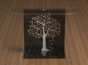 Klimt, Konsole mit Klimt-Dekor