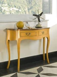 NEMESI Art. 3800, Konsolen in lackiertem Holz, klassischen Stil, für die Halle
