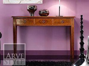 Vivre Lux Konsole, Konsolentisch mit Schubladen aus Massivholz
