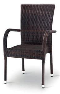 PL 731, Gewebte Sessel für Garten und Terrasse geeignet
