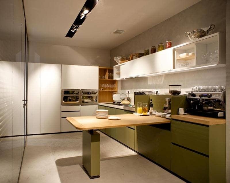 Modulare Küche   Modulare Kuche Mit Regalen Schubladen Spulbecken Kuhlschranke