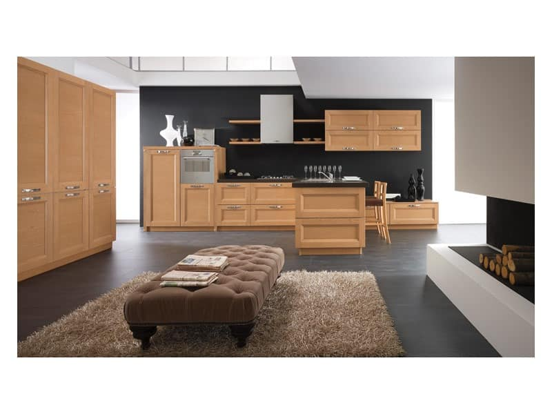 beverly 2 modulare k che agrotourismus idfdesign. Black Bedroom Furniture Sets. Home Design Ideas