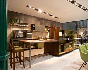 zweizimmerwohnung m bel ausblendbar eingebaute. Black Bedroom Furniture Sets. Home Design Ideas