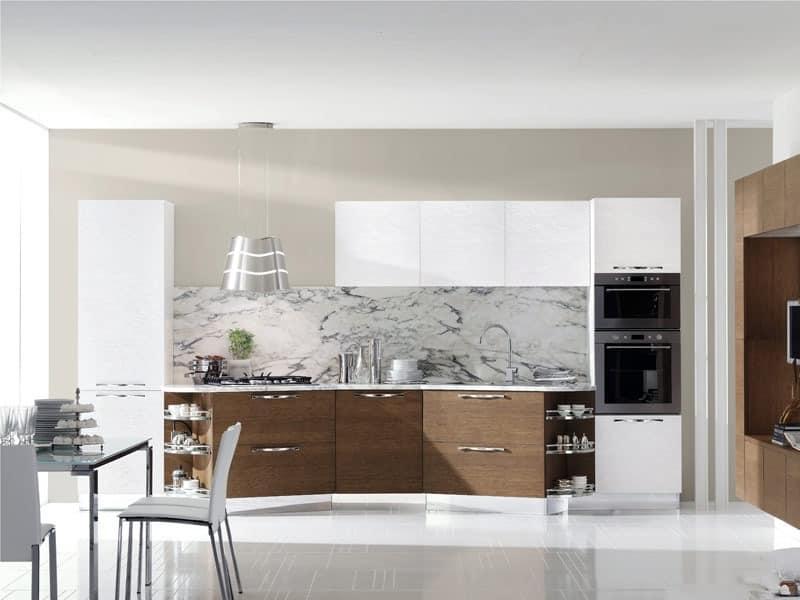 life 2 moderne k che haus im klassischen stil idfdesign. Black Bedroom Furniture Sets. Home Design Ideas