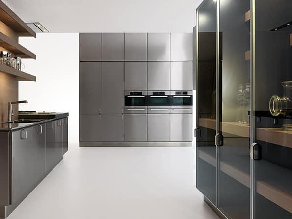 Küche entwickelt für moderne häuser verschiedene ausführungen