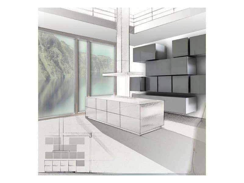 Trealcubo comp.06, Modulares System für Möbel