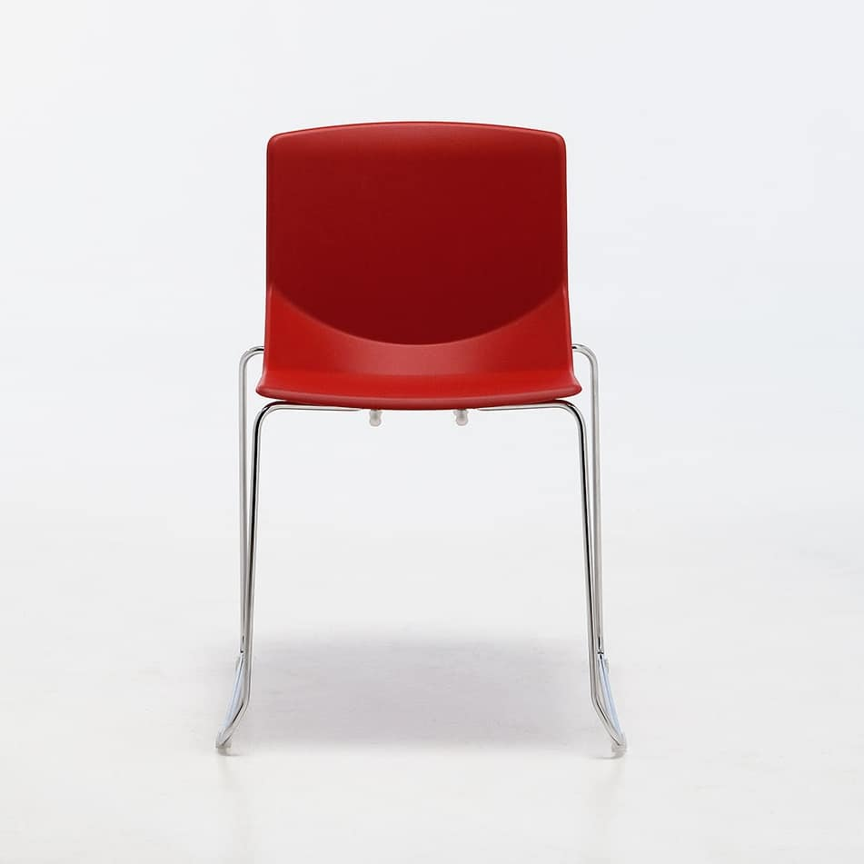 Formula tech SL, Stuhl auf Kufen, stapelbar