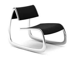 G-Chair, Design Sessel mit Stahlstruktur