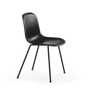 Mani 4L-PLUS, Stuhl aus Stahl und Polypropylen, in verschiedenen Farben