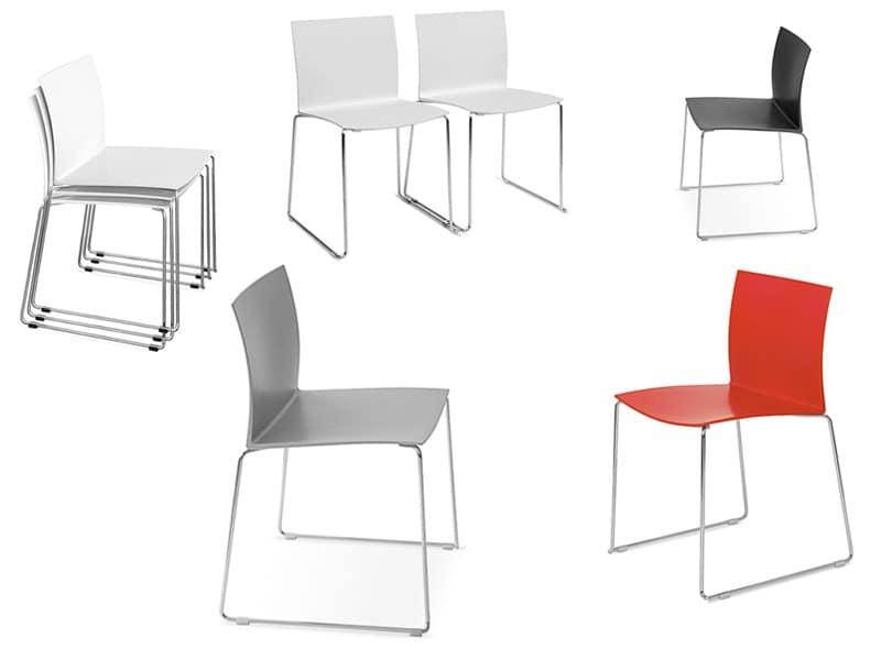 Sol chair von area declic by arrmet group hnliche for Design plastikstuhl