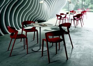 3058 Kikka one, Stuhl aus glasfaserverstärktem Polypropylen