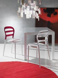Art. 07 Deja vù, Kunststoff-Stuhl, für Küche und im Freien
