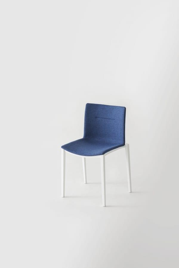 Clipperton, Stapelbarer Stuhl aus Technopolymer