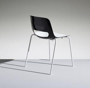 LUCKY 1, Stapelbarer Stuhl aus Polypropylen