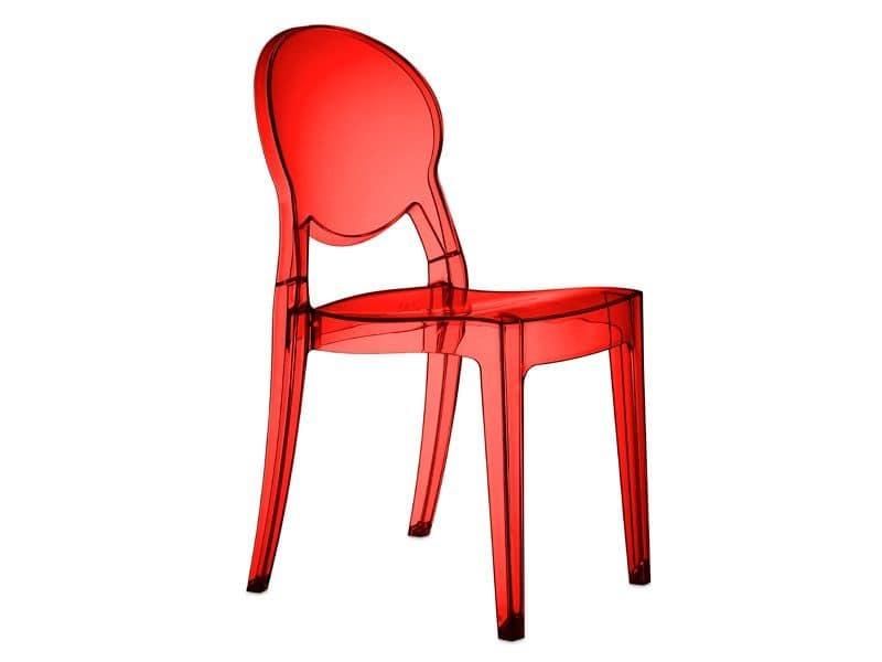 SE 2357, Alle Stuhl aus Polycarbonat, für Pizzerias und Bars