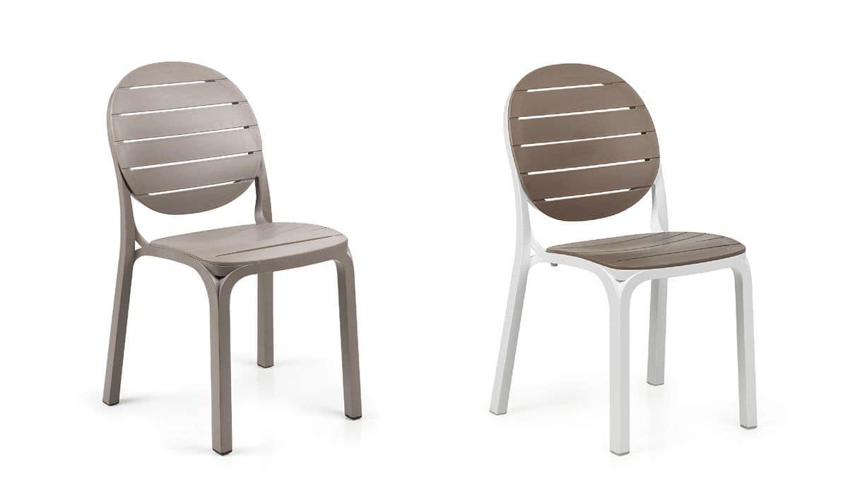 kunststoff stuhl f r den au enbereich und die bar geeignet idfdesign. Black Bedroom Furniture Sets. Home Design Ideas