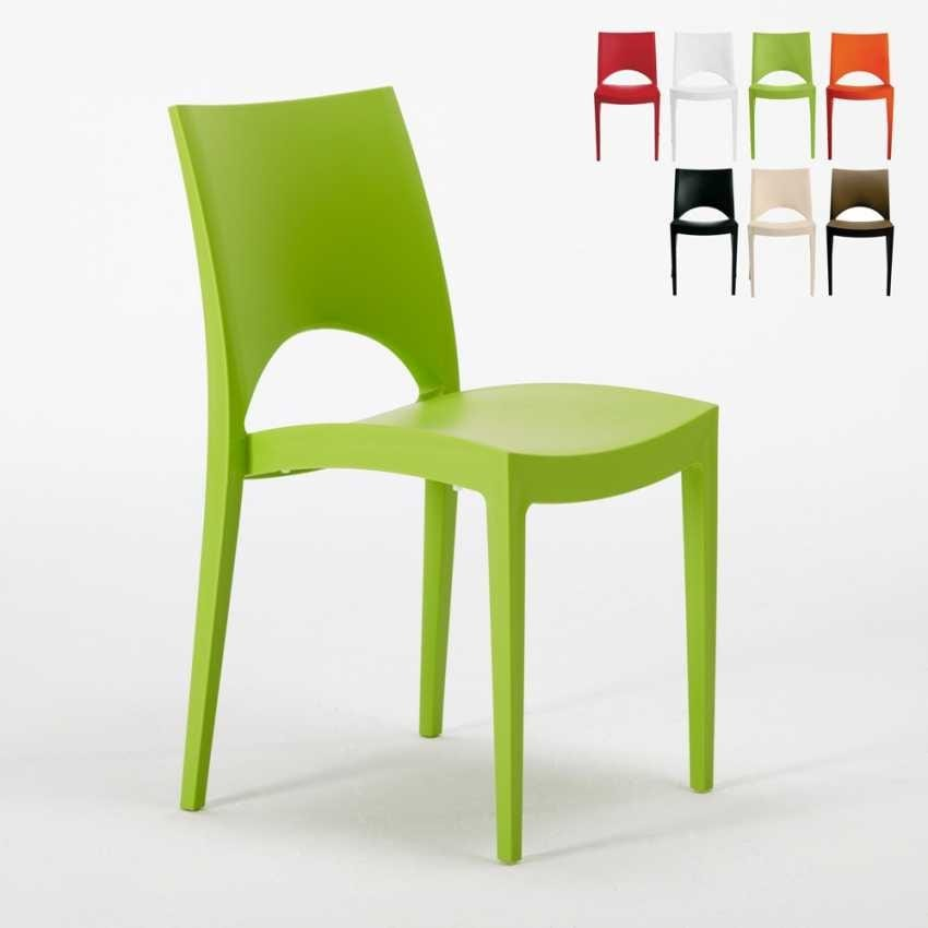 Exceptionnel Stühle Küche Hause Polypropylen Stapelstab PARIS Grand Soleil   S6314,  Stapelbarer Küchenstuhl Aus Polypropylen