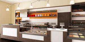 Revolution - Möbel für Bäckereien und Cafeterias, Komplette Möbel für Bäckereien und Cafés
