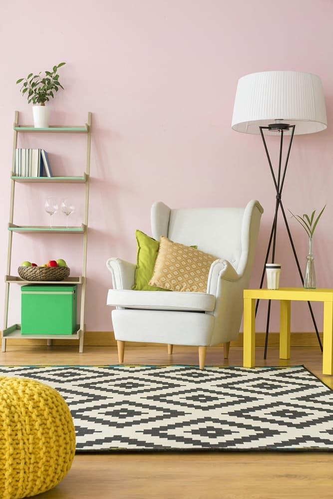 lampenschirm f r zeitgen ssische stehleuchte idfdesign. Black Bedroom Furniture Sets. Home Design Ideas