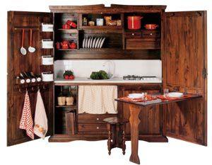 Art. 314, Monoblock-Küche im Landhausstil