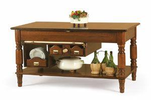 Art. 479, Ausziehbarer Kücheninsel-Tisch