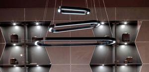 Loop Art. 1483, LED Kronleuchter, mit gewundenem Design