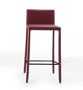 Nunes SG, Kunstleder Hocker mit minimalem Design