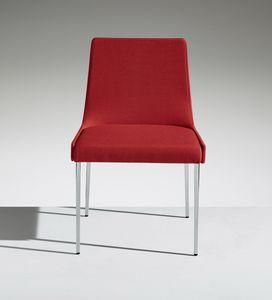 FLEET 3, Gepolsterter Stuhl auf Beinen