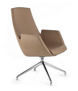 NUBIA 2916, Bürostuhl aus Leder