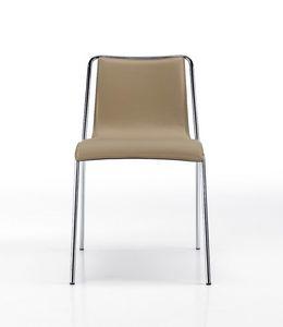 Air, Lederstuhl, mit einem wesentlichen Design