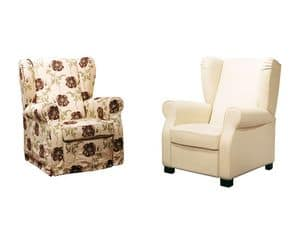 Harley, Sessel mit verstellbarer Rückenlehne, verschiedene Beschichtungen