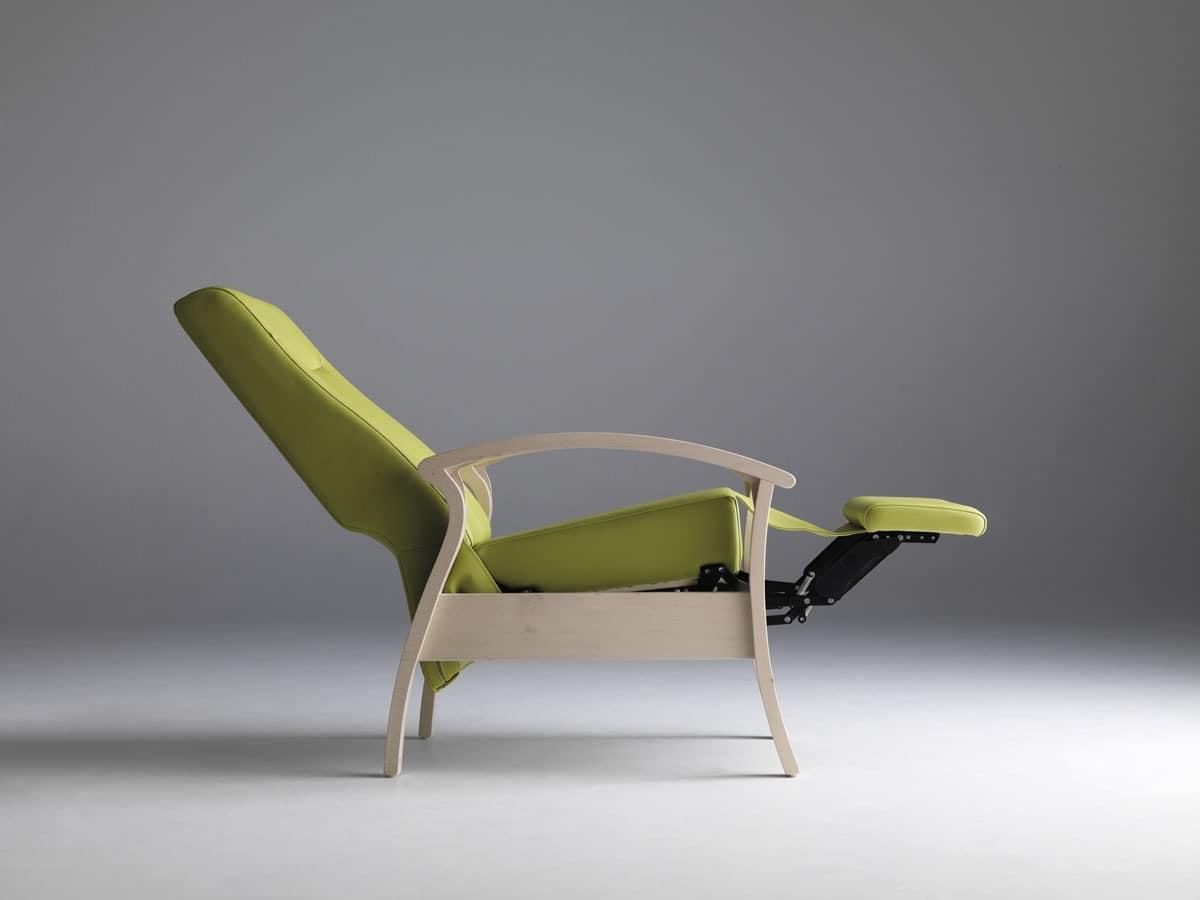 Silver Age 08 EV, Stabil und Relaxsessel, ruhend, für ältere Menschen