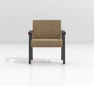 String Guest, Sessel mit leicht zu reinigender Polsterung