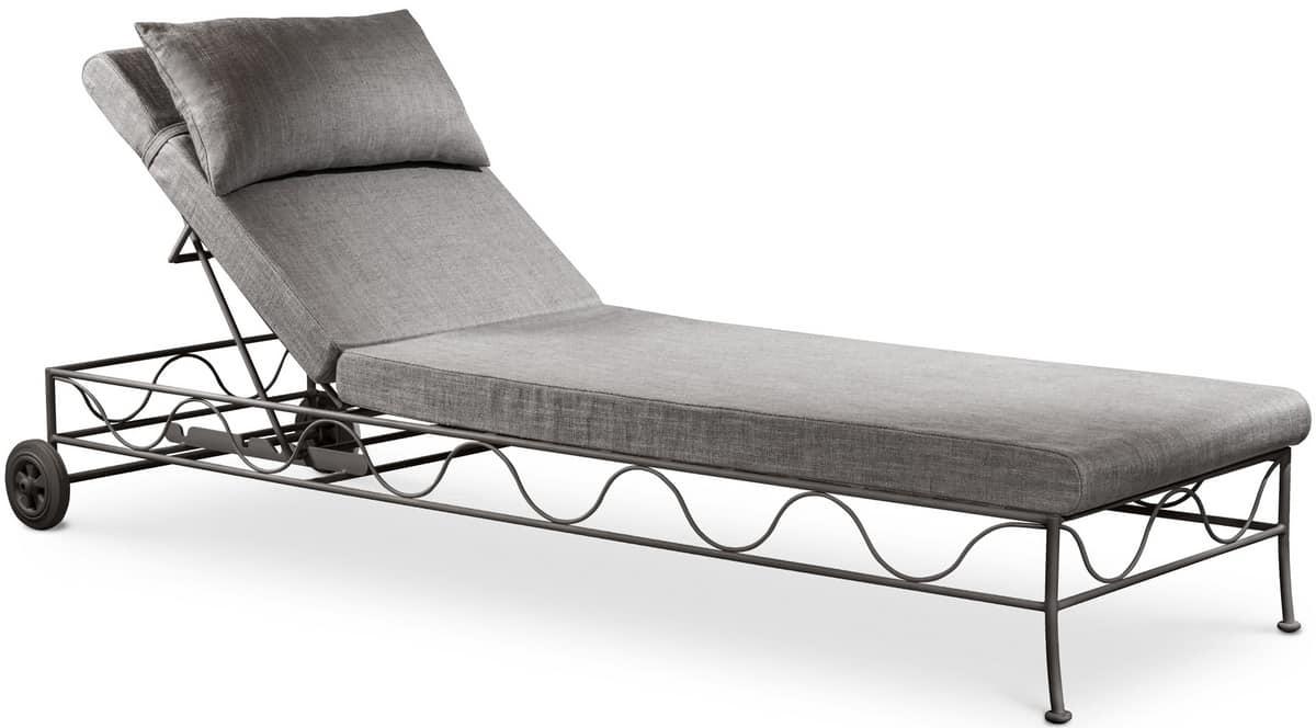 in bettw sche oudtoor liegebett abgedeckt verstellbare r ckenlehne idfdesign. Black Bedroom Furniture Sets. Home Design Ideas