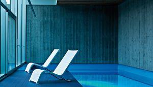 Lazy Sonnenliege 1 Sitz, Outdoor-Sonnenliege mit Batyline®-Mesh